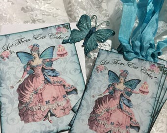 Marie Antoinette Stationery Set, Notecards, Gift Tags, Journals, Scrapbooks, Gift Items