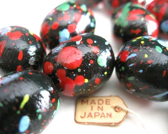 Because I'm Happy Cotton Vintage Beads E354