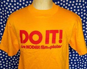 Early 1980's Kodak t-shirt, fits like a roomy medium