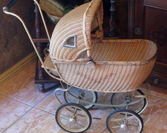 Layaway Payment #4...Macblane...Vintage Doll Buggy Circa Early 1920's