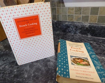 1971 Mastering the Art of French Cooking by Julia Child  Vol. ONE with Dust Jacket Book