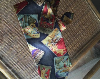 Aubrey Buckner Metropolitan Opera Tie Neck Tie 100% European Silk necktie Opera Posters La Boheme Madam Butterflym Tosca Turandot