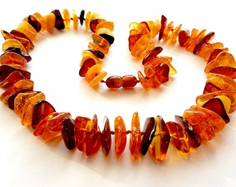 Natural Baltic Amber Necklace Adult Necklace