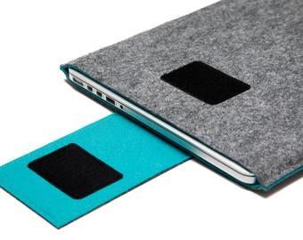 "15"" MacBook Pro Handmade Sleeve. Touch Bar MacBook Case. Retina Display Sleeve."