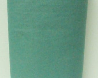 Blue Spruce 20% Merino Wool Felt Blend Fabric By the Yard from Woolhearts