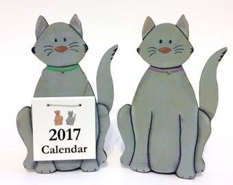 SALE !!!  2017 Calendar Cat