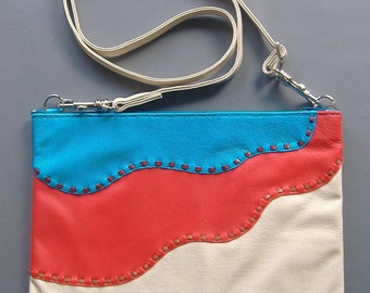 Red River soft leather crossbody bag
