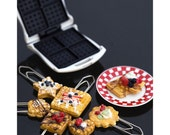 Miniature Waffles Paperclips