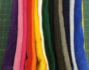 Wholesale 6 golf towels, 11 x 16 or 16 x 26 with corner grommet