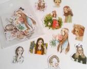 Pretty Girl Sticker Flake Pack