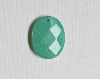 Green Jade Pendant Bead