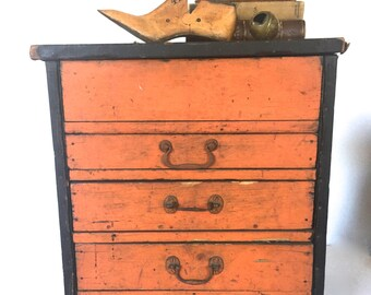 Antique file cabinet  / tools cabinet / craft cabinet
