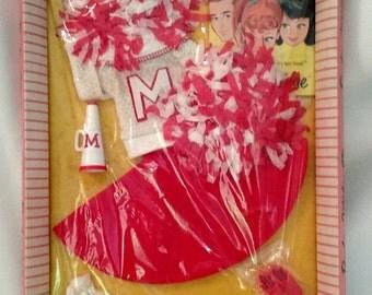 Vintage Barbie Cheerleader Fashion Mint 0876 NRFB MOC 1962 Sealed Pkg
