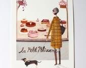 SALE La Petit Patisserie A4 Art Print