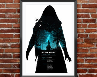 """Star Wars The Force Awakens Movie Poster 12X18"""""""