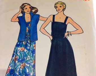Vintage Fast and Easy Sundress Pattern