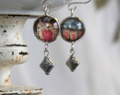 Earrings, Victorian era p...