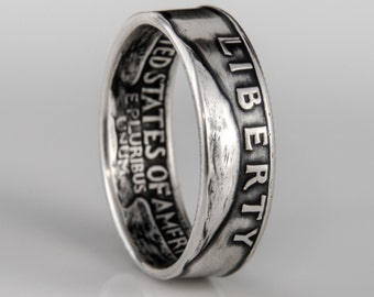 Washington Quarter Ring - SILVER (.900) - Reserved for Paula!