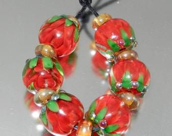 Festive Lotus Petal Beads