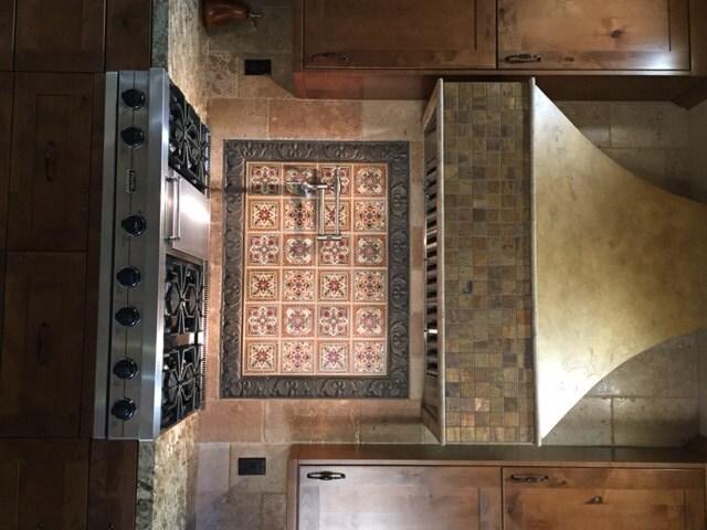 italian renaissance design custom backsplash ceramic tile