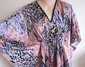 Caftan dress robe lounge wear nightgown kimono one size S M L XL
