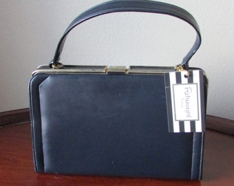 Navy Blue Handbag