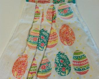Easter Egg Hanging Towel