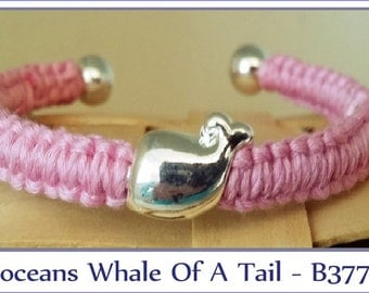 Boceans Whale Of A Tail Cuff Bracelet - B377 Medium to X large