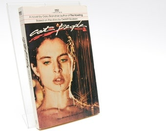 """Cult Film Book """"Cat People"""" (1982) First Edition 