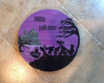 "Disney ""HAPPY HALLOWEEN""  wall hanging"