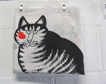 Vintage Kliban Cat Pillowcase