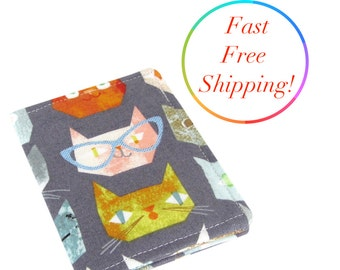 Cute Fabric Kitty Cat Wallet