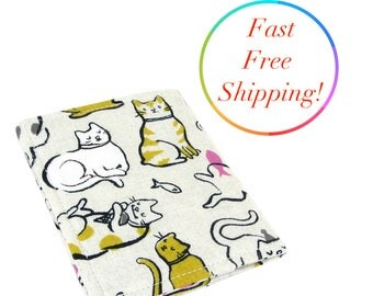 Cat Wallet, Womans Wallet, Slim Wallet, Travel Wallet, Minimalist Wallet, Wallet For Women, Credit Card Holder, Gifts For Cat Lovers