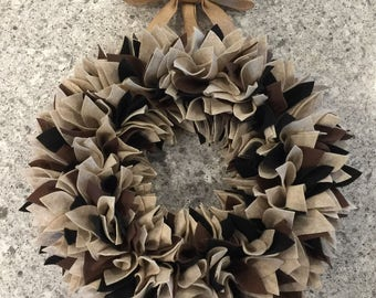 Choose Your Colors Wreath - Custom Wreath - Felt Wreath - Rag Wreath - Spring Wreath - Large Wreath - Summer Wreath - Door Wreath