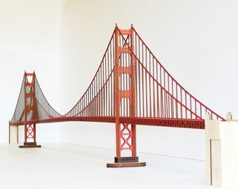 Golden Gate Bridge full span model