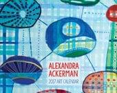 Alex's 2017 Art Calendar