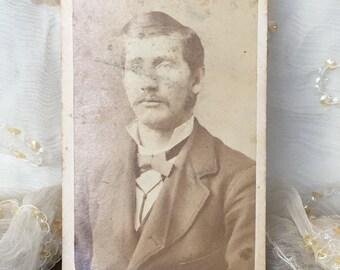 Antique CDV of a Handsome Man