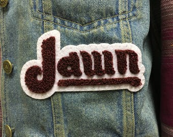 Jawn Philly slang vintage Phillies parody patch