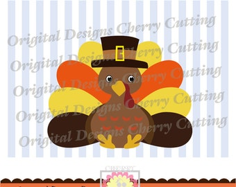 Thanksgiving turkey  for boys,Thanksgiving Silhouette & Cricut Cut Files DGCUTTH14 -Personal and Commercial Use