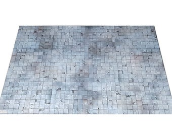 2'x3' Dungeon Tiles Playmat RPG game mat - for Dungeons and Dragons, Pathfinder, Warhammer Quest, and more!