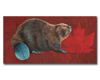 National Rodent 8x10 print by Alcia Wishart