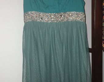 Little Emerald Green Dress XS/S