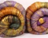 Roly - Poly Fiber Batts - Hope Springs Eternal - (3.4 oz.) merino, silk, targhee , faux cashmere, alpaca, bamboo, silk noil