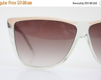 ON SALE Vintage 80's Oversized Sunglasses Frames