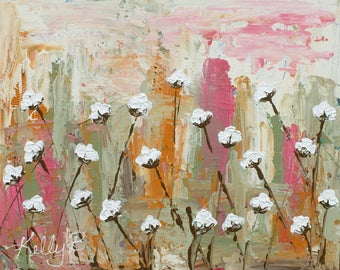 Cotton Art Print | Wild Cotton Candy | 8x10|11x14|16x20