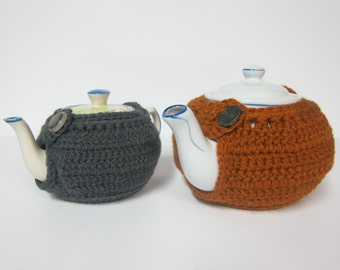 Button Teapot Cozy, Cozies for Teapots, Teapot Cover, Warmers for Teapots, Teapot Warmers, Cozies with Buttons, Crochet Teapot Cozy