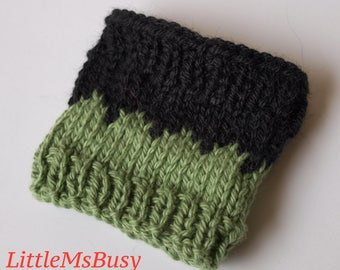 Coffee Cup Cozy - Two Tones