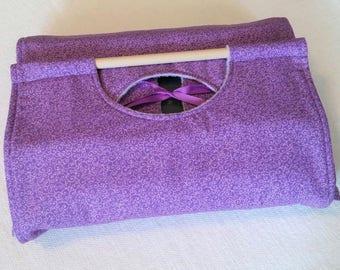 Purple Swirl 9x13 Dish Tote - FREE Shipping, Made in USA