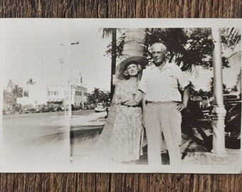Original Vintage Photograph Close to James