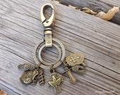 Ephesians 6 Christian Keychain, Put on the Full Armor Of God, Spiritual Armor, Bronze Keychain, Christian Gift, Shield of Faith, Bible Gift